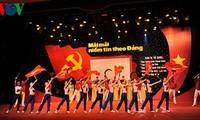 Bertekad membangun Partai Komunis Vietnam yang kuat