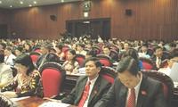 Anggota MN membahas rancangan Undang-Undang tentang Pencegahan dan Penanggulangan dampak rokok