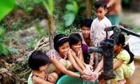 Air bersih dan target pembangunan pedesaan baru.