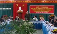 西北部地区指导委员会工作总结会议在安沛举行