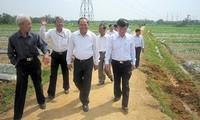 越南国会监督代表团视察广南省