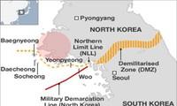 韩国在韩朝边界附近地区举行实弹演习