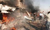 伊拉克连续发生爆炸事件,造成200多人伤亡