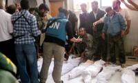 联合国安理会对叙利亚屠杀事件表示强烈谴责