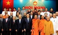 越南祖国阵线第七届中央委员会主席团第九次会议在河内举行