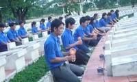 越南全国青年举行报答恩义周活动