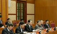 阮晋勇出席西原地区指导委员会成立10周年纪念会
