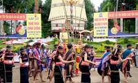 西原地区越南民歌节开幕