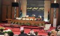 利比亚国民议会举行首次全体会议