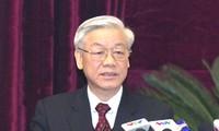 越共十一届四中全会决议符合党意民心