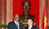 张晋创会见美国贸易代表柯克