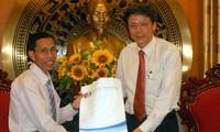 本台副台长武海会见缅甸广播电视台代表团