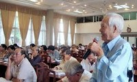 全国各省市继续按照越共十一届四中全会决议开展批评和自我批评