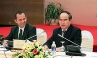 阮善仁会见联合国教科文组织世界遗产中心主任