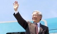 越共中央总书记阮富仲访问新加坡