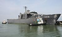 新加坡海军代表团访问越南岘港市