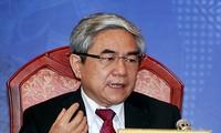 越南国会科技委员会举行质询会议