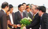 阮生雄圆满结束亚欧议会伙伴会议行程回国