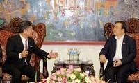 黄忠海会见日本企业协会中小型企业国际援助特殊委员会主席大久保秀夫
