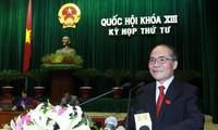 越南13届国会4次会议12日举行质询活动
