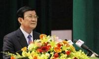 张晋创出席胡志明国家政治行政学院越南教师节纪念会