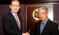 越南和新加坡举行第五次国防政策对话会