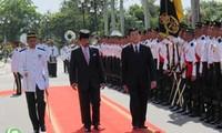 越南国家主席张晋创结束对文莱和缅甸的访问