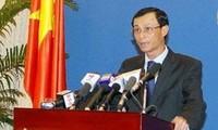 越南要求中国尊重越南在东海的主权
