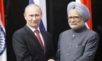 俄罗斯和印度加强多领域合作关系