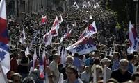 数千希腊民众举行反种族歧视游行