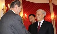 越共中央总书记阮富仲结束对意大利的访问