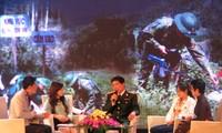 """本台举行""""为了平安生活——清除越南战后遗留爆炸物""""交流会"""