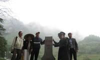 海外越侨代表团看望高平省潭水边防站指战员