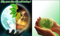 越南举行多项活动,响应2013年世界地球日