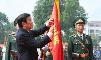 张晋创主席出席边防学院成立50周年纪念大会
