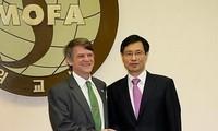 韩美继续进行原子能协定修订谈判