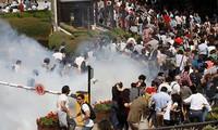 土耳其发生大规模游行示威