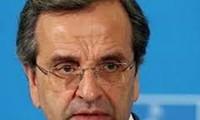 希腊总理萨马拉斯宣布重组内阁