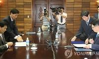 韩朝原则上就开城工业园区恢复生产达成一致