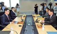 朝韩同意讨论离散家属团聚问题