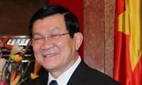张晋创和阮生雄分别访问美国、韩国和缅甸