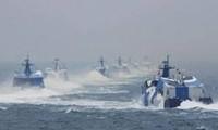 中国海警船进入中日争议海域