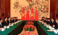 越南政府总理阮晋勇同中国国务院总理李克强举行会谈