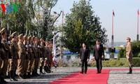 张晋创会见匈牙利总理欧尔班·维克多国会主席格维尔•拉斯洛