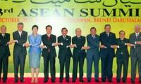 阮晋勇总理结束出席第23届东盟峰会行程
