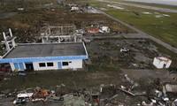 越南党政领导人就菲律宾遭受台风袭击致电阿基诺慰问