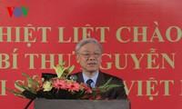 阮富仲总书记开始对印度进行国事访问