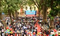 长沙岛县和全国各地纷纷举行11.20越南教师节庆祝活动