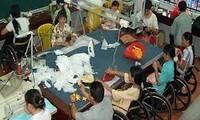 岘港残疾人的温暖之家
