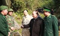 谅山省加强打击边境走私和贸易舞弊